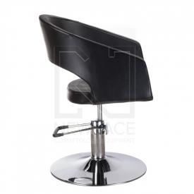 Fotel fryzjerski Paolo BM-002 czarny standard #3