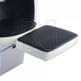 Myjnia fryzjerska LUIGI BR-3542 czarno-biała #3