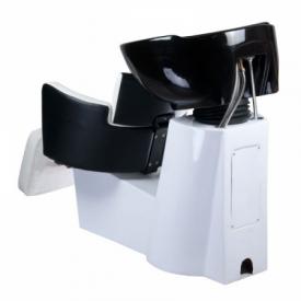 Myjnia fryzjerska LUIGI BR-3542 czarno-biała #5