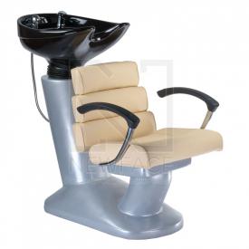 Myjnia fryzjerska FIORE kremowa BR-3530B