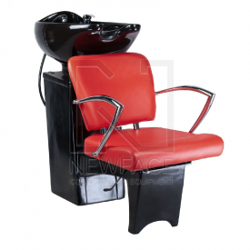 Myjnia fryzjerska LIVIO czerwona BD-7822