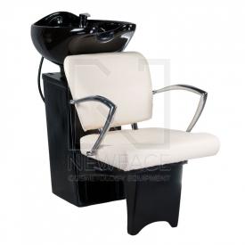 Myjnia fryzjerska LIVIO kremowa BD-7822 #1