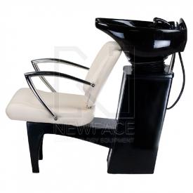 Myjnia fryzjerska LIVIO kremowa BD-7822 #4