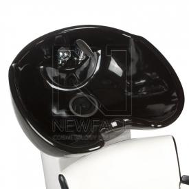Myjnia fryzjerska LUIGI BR-3542 biało-czarna #4