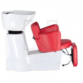 Myjnia fryzjerska LUIGI BR-3542 czerwona #6