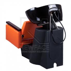 Myjnia fryzjerska MILO pomarańczowa BD-7825 #2