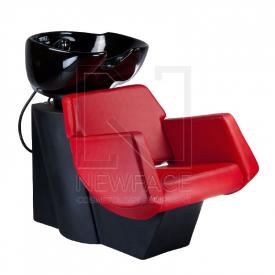 Myjnia fryzjerska NICO czerwona BD-7821