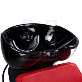 Myjnia fryzjerska NICO czerwona BD-7821 #2