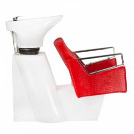 Myjnia fryzjerska Roberto czerwona BM-519 #4