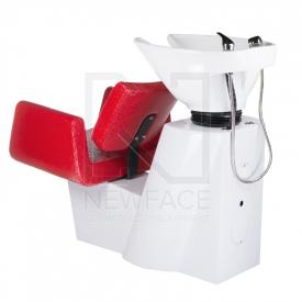 Myjnia fryzjerska Vito BM-509 czerwona LUX #5