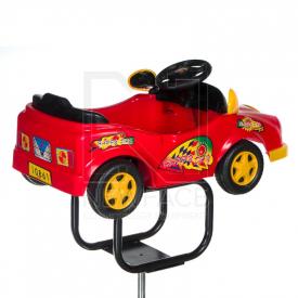 Dziecięcy fotel fryzjerski Autko BW-602 czerwony #3