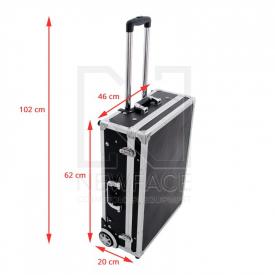 Kufer Kosmetyczny Glamour 9606 Czarny ( Przenośne Stanowisko) #4