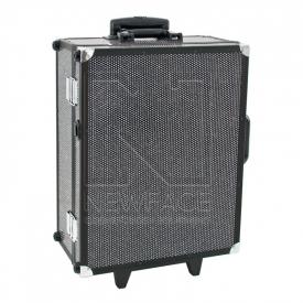 Kufer Kosmetyczny Glamour 9552 Czarny Crystal (Przenośne Stanowisko) #2