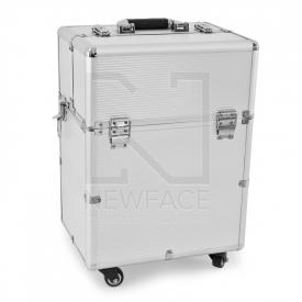 Kufer Kosmetyczny Glamour 9006 Srebrny