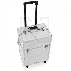 Kufer Kosmetyczny Glamour 9006 Srebrny #3