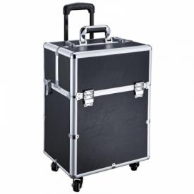 Kufer Kosmetyczny Glamour D-9006 Czarny #2