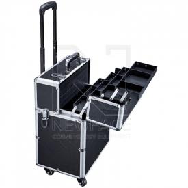 Kufer Kosmetyczny Glamour D-9006 Czarny #3