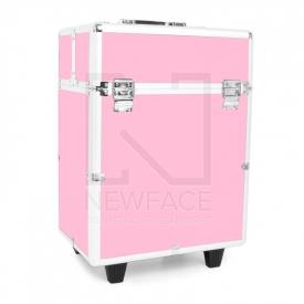 Kufer Kosmetyczny Glamour 9022 Różowy