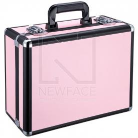 Kufer Kosmetyczny Glamour 9500k Różowy (Przenośne Stanowisko)