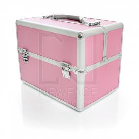 Kufer Kosmetyczny S - Standardowy Pink