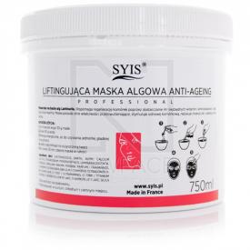 Syis Maska Algowa Liftingująca Anti-Ageing Ze Spiruliną, 750ml/250g