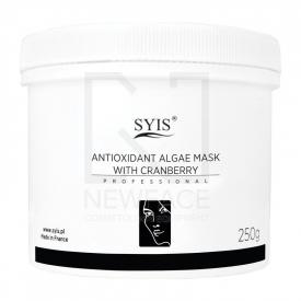 Syis Maska Algowa Antyoksydacyjna Z Żurawiną, 750 Ml/250 G