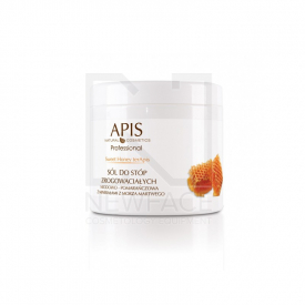 Apis Sweet Honey Sól Do Stóp Zrogowaciałych, 650g