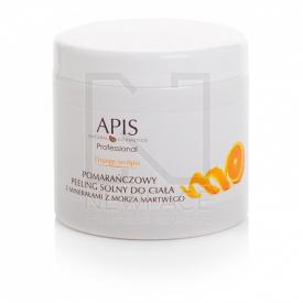 Apis Orange Pomarańczowy Peeling Solny Do Ciała, 700g
