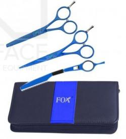 """Komplet Fox Bue (Nożyczki 5,5"""", Degażówki 5,5"""", Nóż Chiński)"""