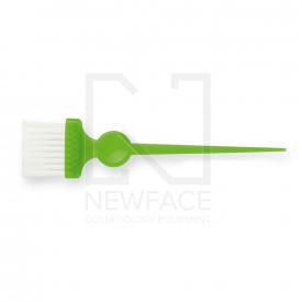Pędzelek Wąski Zielony Z Białym Włóknem