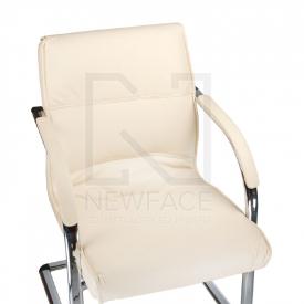 Fotel Konferencyjny Corpocomfort BX-3346 Kremowy #1
