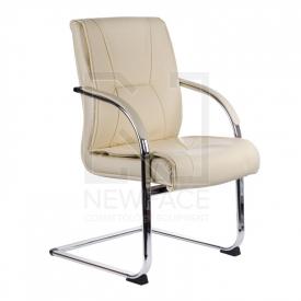 Fotel Konferencyjny Corpocomfort BX-3345 Kremowy #1