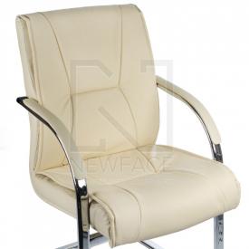 Fotel Konferencyjny Corpocomfort BX-3345 Kremowy #2