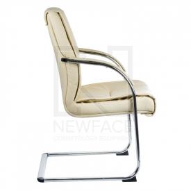 Fotel Konferencyjny Corpocomfort BX-3345 Kremowy #4