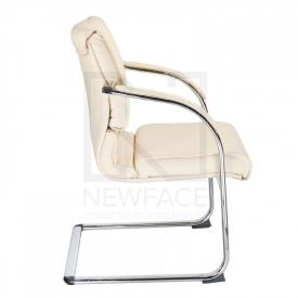 Fotel Konferencyjny Corpocomfort BX-3339B Kremowy #2