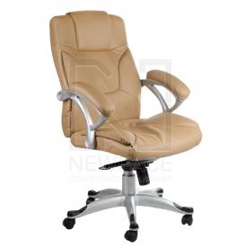 Fotel Ergonomiczny Corpocomfort BX-5786 Kremowy #1