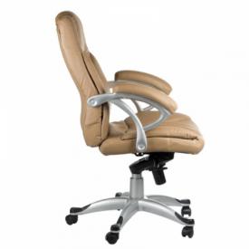 Fotel Ergonomiczny Corpocomfort BX-5786 Kremowy #4
