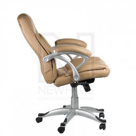 Fotel Ergonomiczny Corpocomfort BX-5786 Kremowy #5