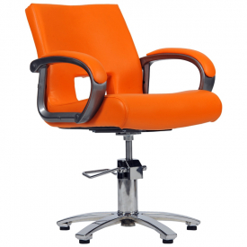 Fotel Fryzjerski Milano Pomarańczowy