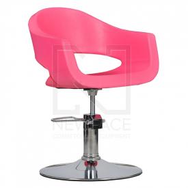 Fotel Fryzjerski Prato Róż