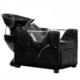 Myjnia Fryzjerska Bristol Czarny Krokodyl
