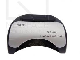 Lampa LED + CFL do paznokci 48W CFL06 Czarna