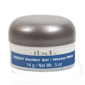 IBD LED/UV BUILDER GEL, 14G INTENSE WHITE