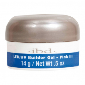 IBD LED/UV BUILDER GEL, 14G PINK III