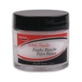 Puder akrylowy SuperNail White Powder - biały, 21g