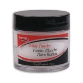 Puder akrylowy SuperNail White Powder - biały, 56g