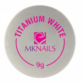 Mknails Żel jednofazowy titanium white, 9g