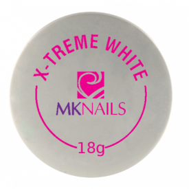 Mknails Żel jednofazowy X-treme white, 18g #1