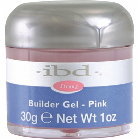IBD Builder Gel Pink, 30g - różowy żel budujący