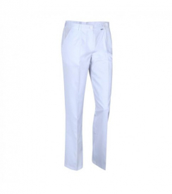 Spodnie Medyczne Białe, Rozmiar 48